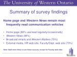 summary of survey findings3