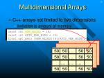 multidimensional arrays13