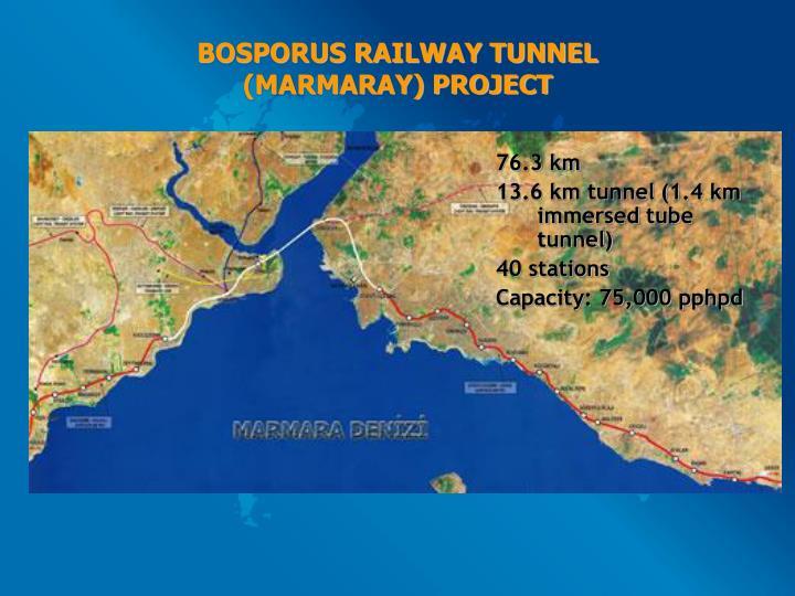 BOSPORUS RAILWAY TUNNEL