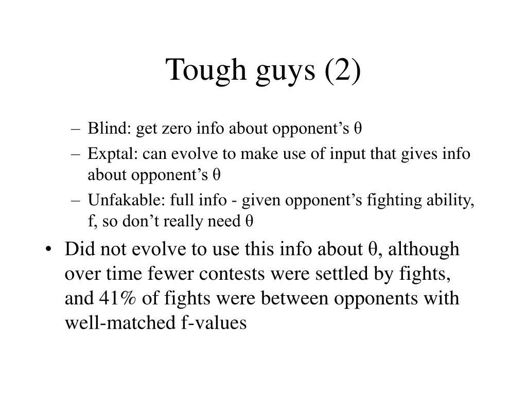 Tough guys (2)