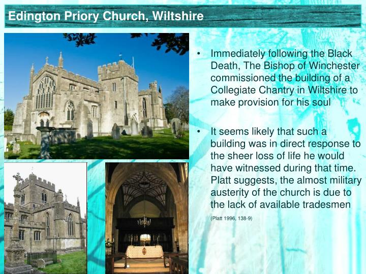Edington Priory Church, Wiltshire