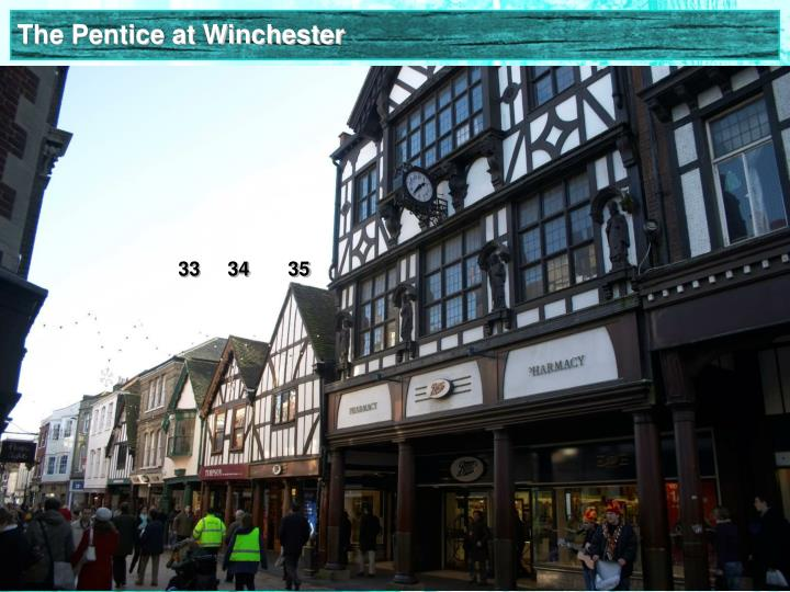 The Pentice at Winchester