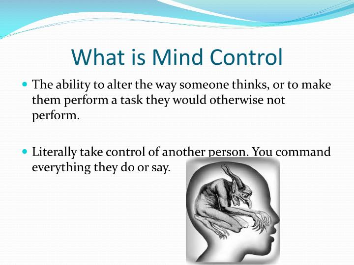 What is mind control