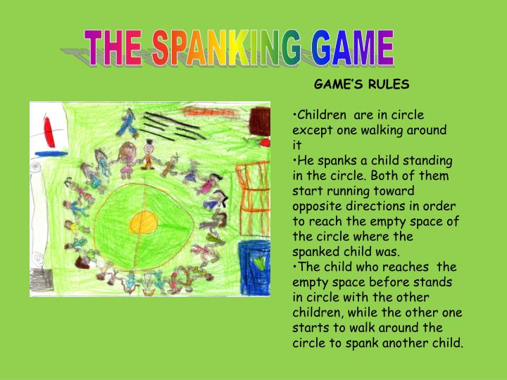 THE SPANKING GAME