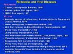 rickettsial and viral diseases