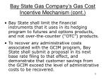 bay state gas company s gas cost incentive mechanism cont2