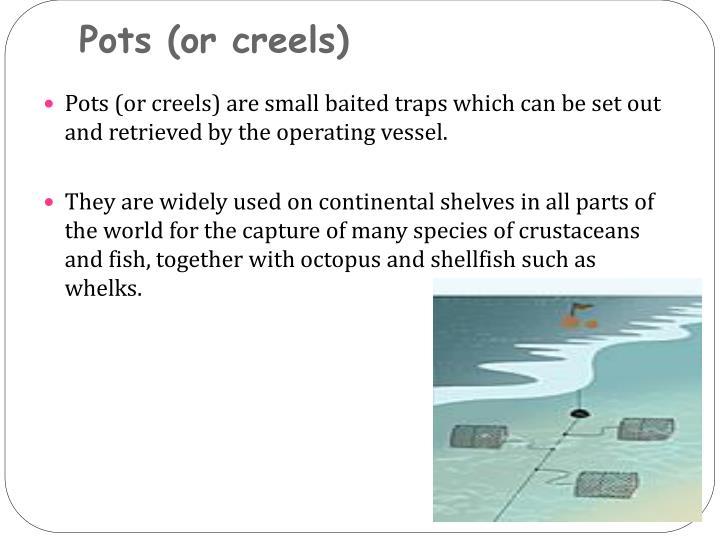 Pots (or creels)