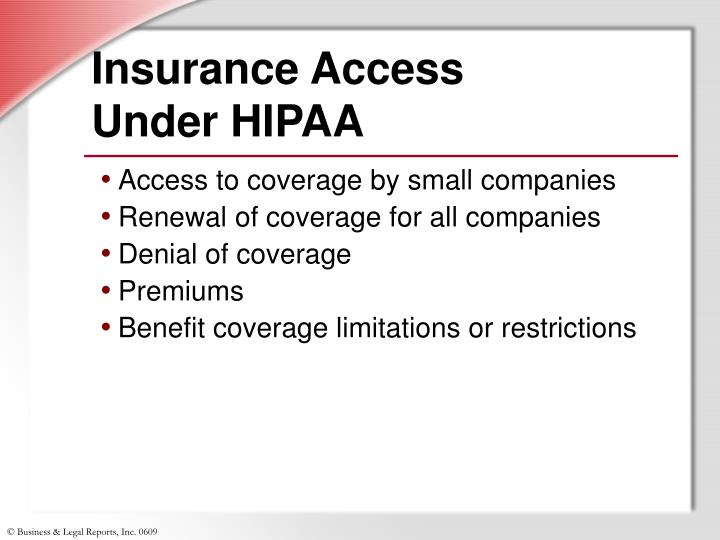 Insurance Access