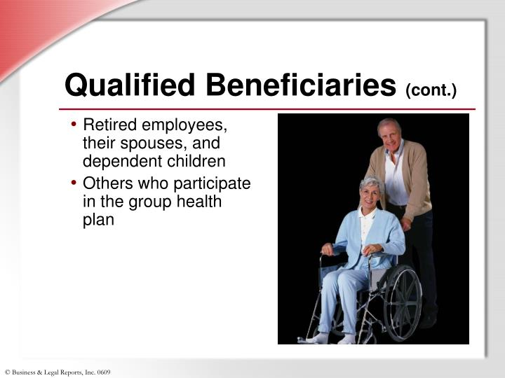 Qualified Beneficiaries