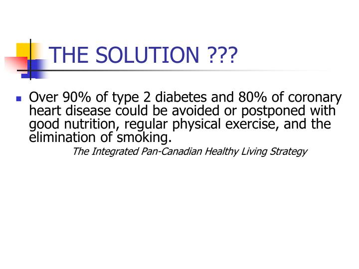 THE SOLUTION ???