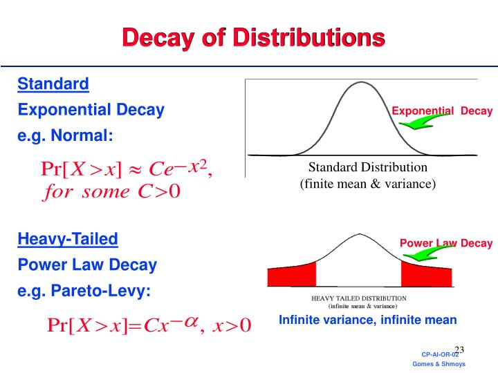 Power Law Decay