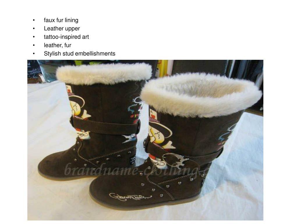 faux fur lining