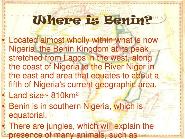 Where is Benin?