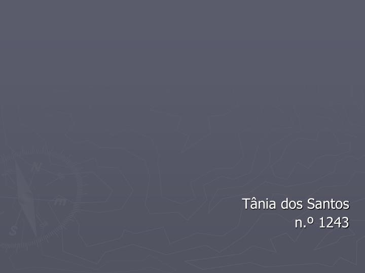 Tânia dos Santos