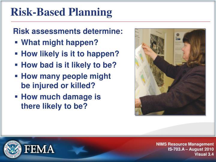 Risk-Based Planning