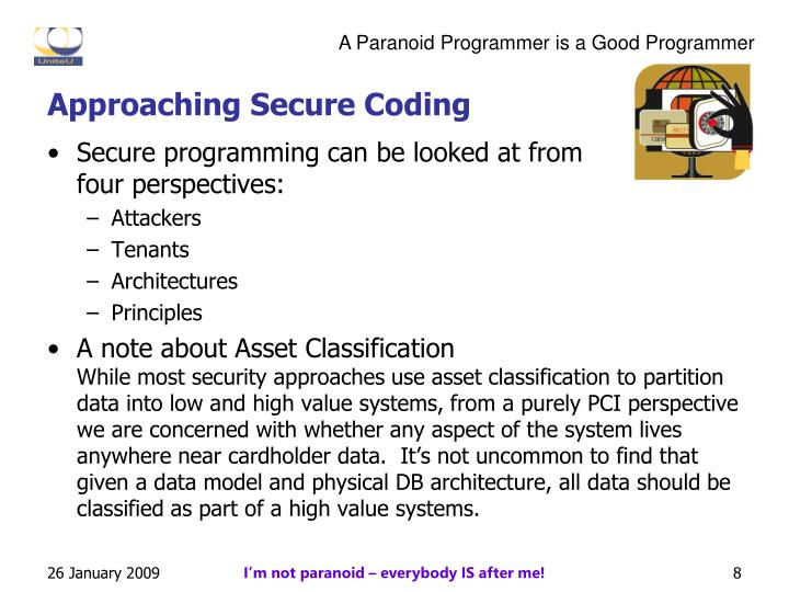 Approaching Secure Coding