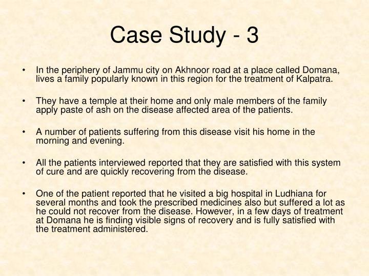 Case Study - 3