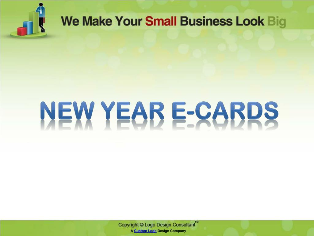 New Year E-Cards