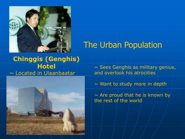 The Urban Population