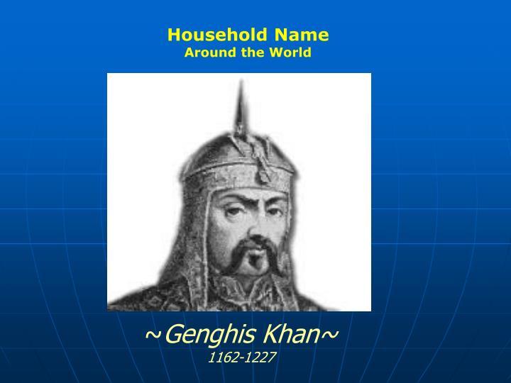 Household Name
