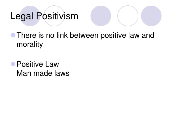 legal positivism essay Legal positivism legal positivism is a philosophy of law that emphasizes the conventional nature of law—that it is socially constructed according to legal.
