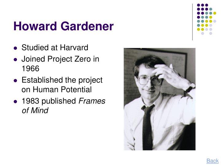 Howard Gardener