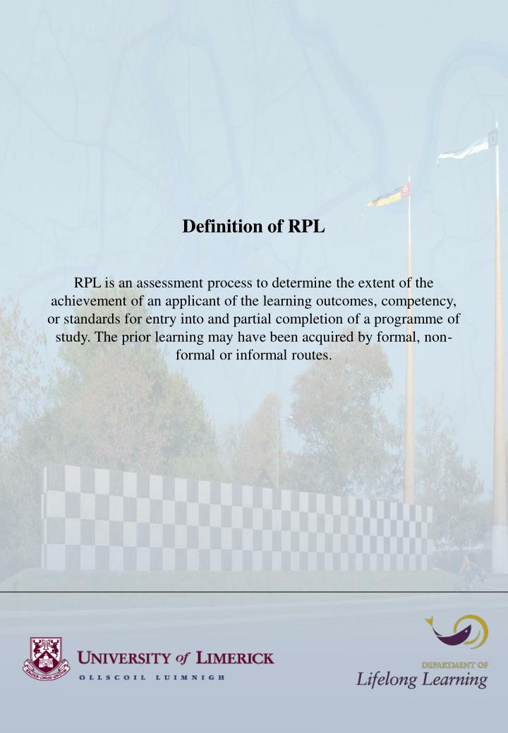 Definition of RPL