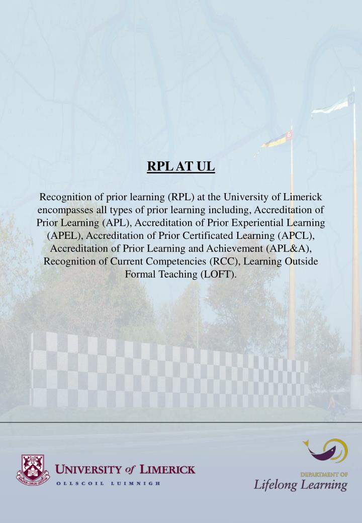 RPL AT UL