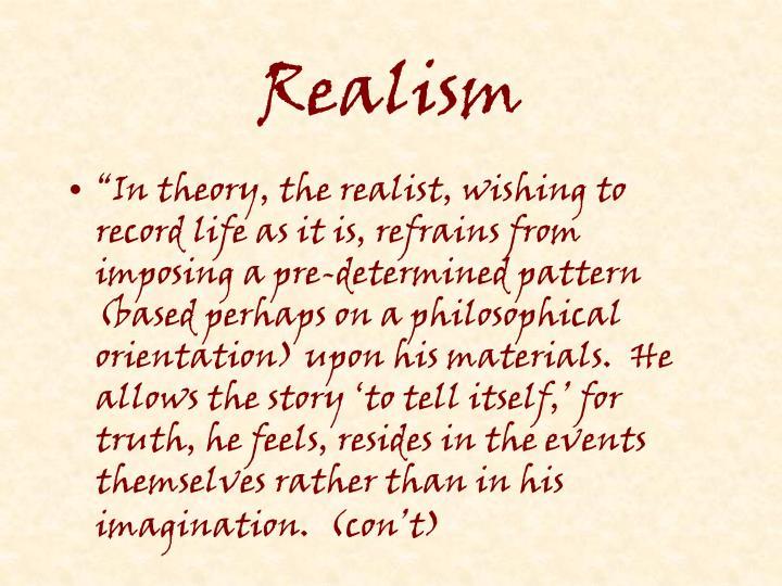 Realism