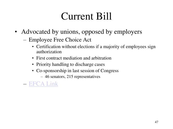 Current Bill