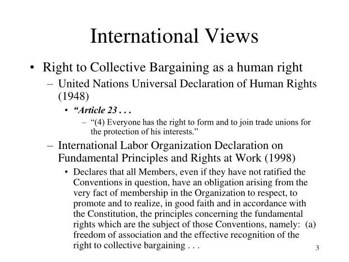International Views