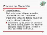 proceso de clonaci n