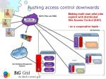 pushing access control downwards1