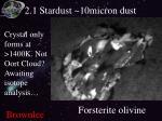 2 1 stardust 10micron dust