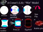 a comet s life wet model