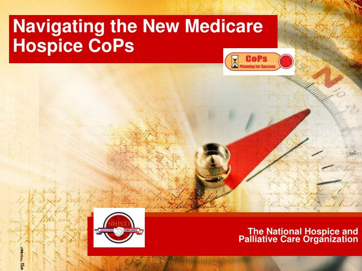 the national hospice and palliative care organization n.