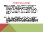 nchsaa regulations8