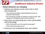 healthcare industry drivers1