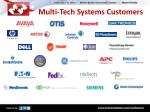 multi tech systems customers