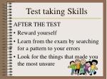 test taking skills2
