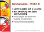communication what is it1