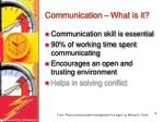 communication what is it2