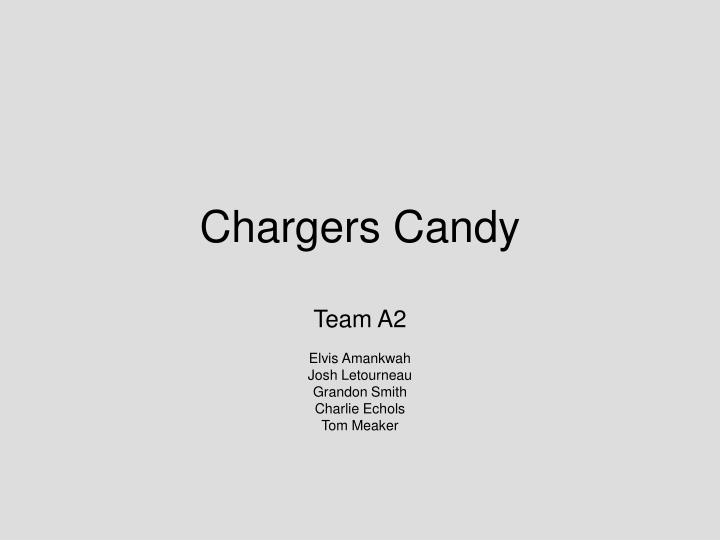 chargers candy n.