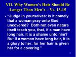vii why women s hair should be longer than men s vs 13 15
