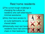 rest home residents