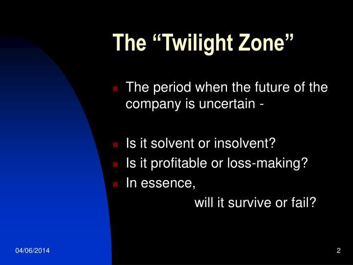 Ppt directors in the twilight zone powerpoint presentation id the twilight zone toneelgroepblik Images
