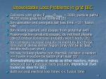 unavoidable loss problems in grid iec