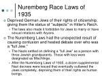 nuremberg race laws of 1935