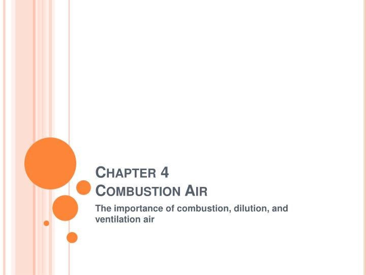 chapter 4 combustion air n.