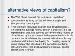 alternative views of capitalism